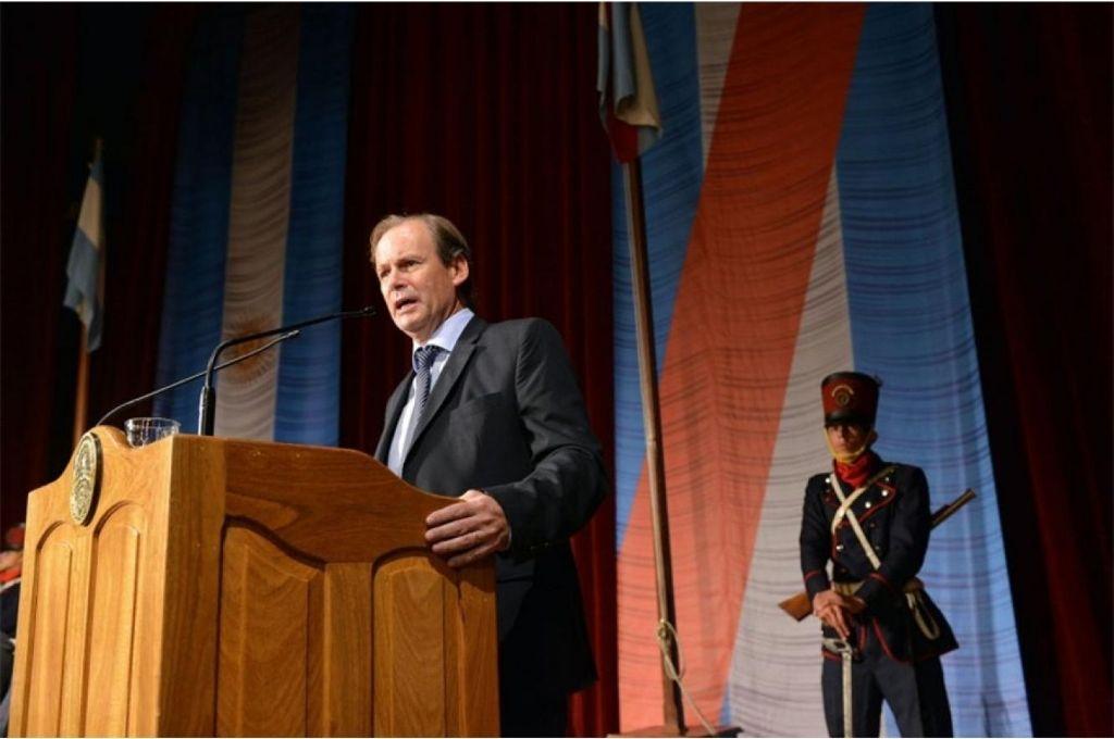 Gustavo Bordet, gobernador de Entre Ríos. Crédito: Gentileza