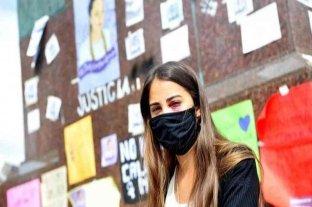 La amiga de Úrsula Bahillo, herida durante la represión policial, denunció el ataque y reiteró el pedido de justicia