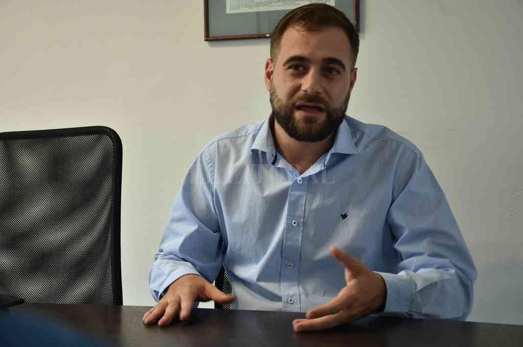 Federico Fulini, concejal de la ciudad de Santa Fe. Crédito: Archivo El Litoral