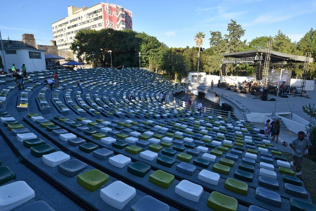 """La fecha de este sábado del Anfiteatro """"Juan de Garay"""" se reprograma para el lunes 15 de febrero. Crédito: Pablo Aguirre"""