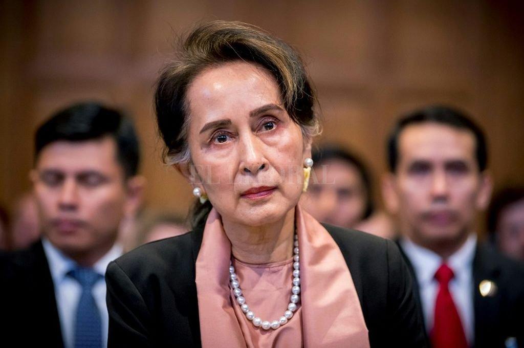 Aung San Suu Kyi, Premio Nobel de la Paz en 1991. Crédito: Captura digital