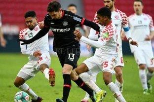 Alario marcó para el Bayer Leverkusen que empató con Mainz