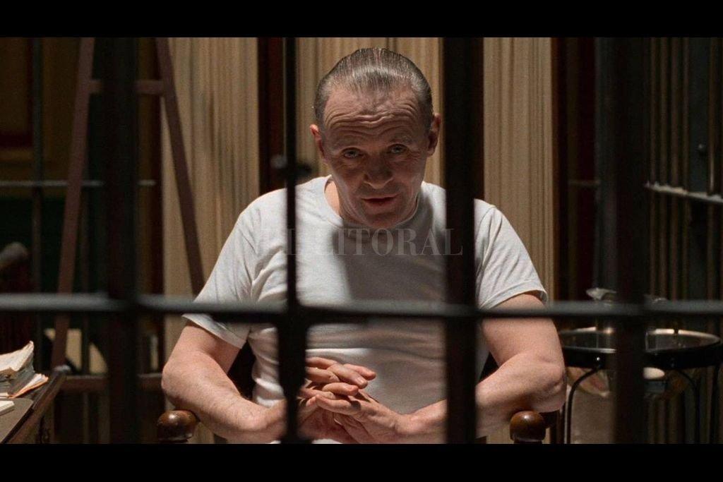 """Para construir la voz del personaje de Lecter, Anthony Hopkins confesó que trató de lograr """"una combinación de Truman Capote y Katharine Hepburn"""". Crédito: Orion Pictures"""