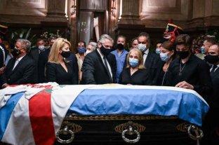 Carlos Menem fue velado en el Congreso Nacional