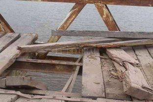 Impulsan la reparación del puente que conecta Margarita y Colonia Durán
