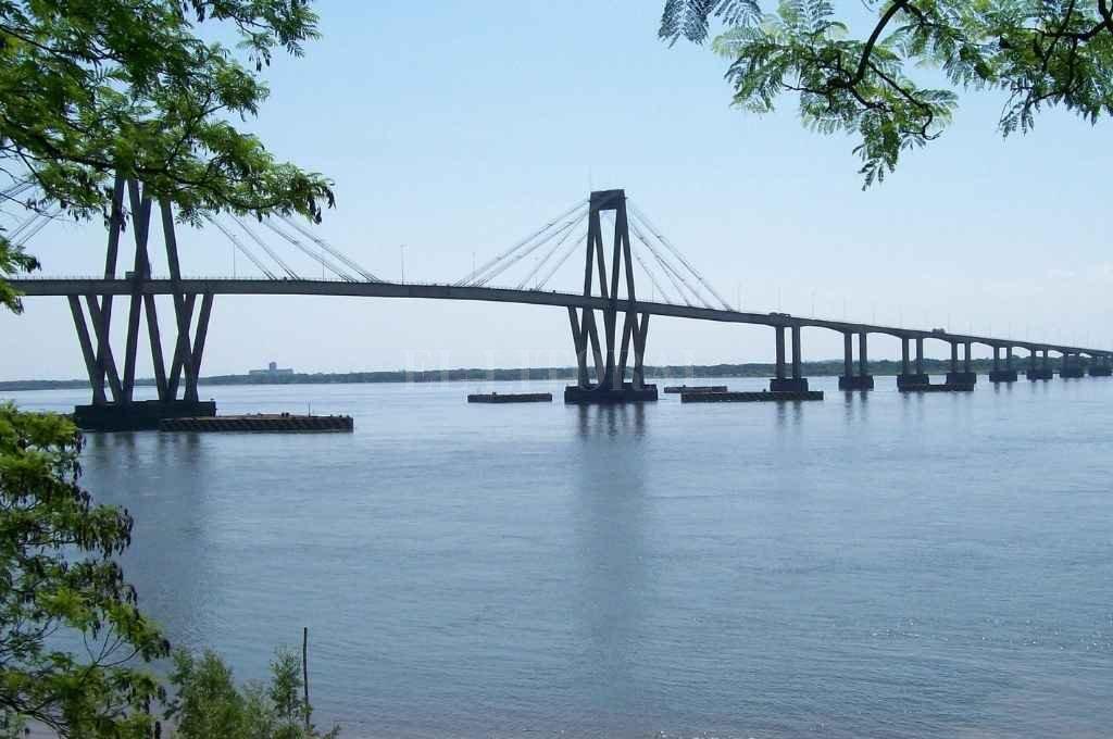 Puente General Manuel Belgrano, la unión entre Chaco y Corrientes. Crédito: Gentileza