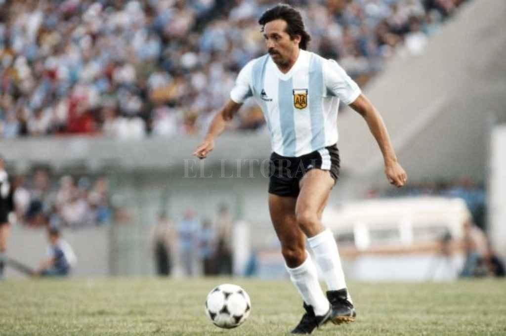 Leopoldo Jacinto Luque en el mundial de 1978. Crédito: Gentileza