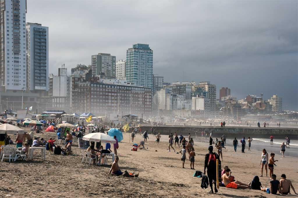 Mar del Plata en modo pandemia Crédito: Noticias Argentinas