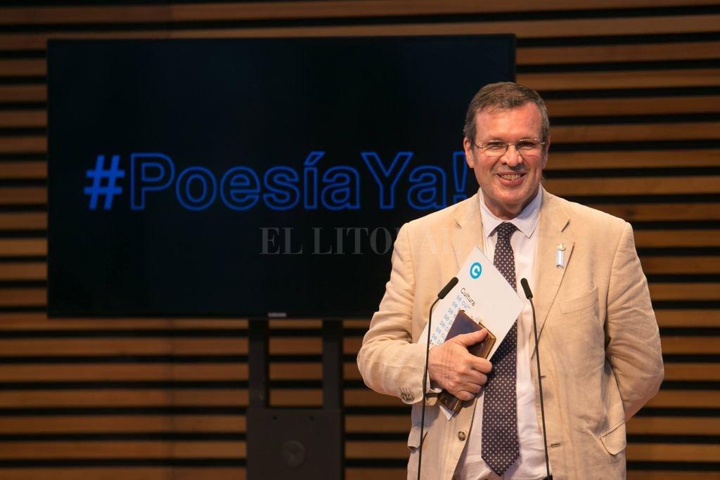 El ministro de Cultura, Tristán Bauer, fue el encargado de dar las palabras de cierre al acto. Crédito: Gentileza Cultura Nación
