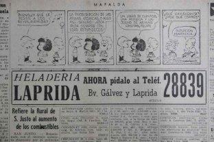Mafalda llega al interior del país de la mano de El Litoral
