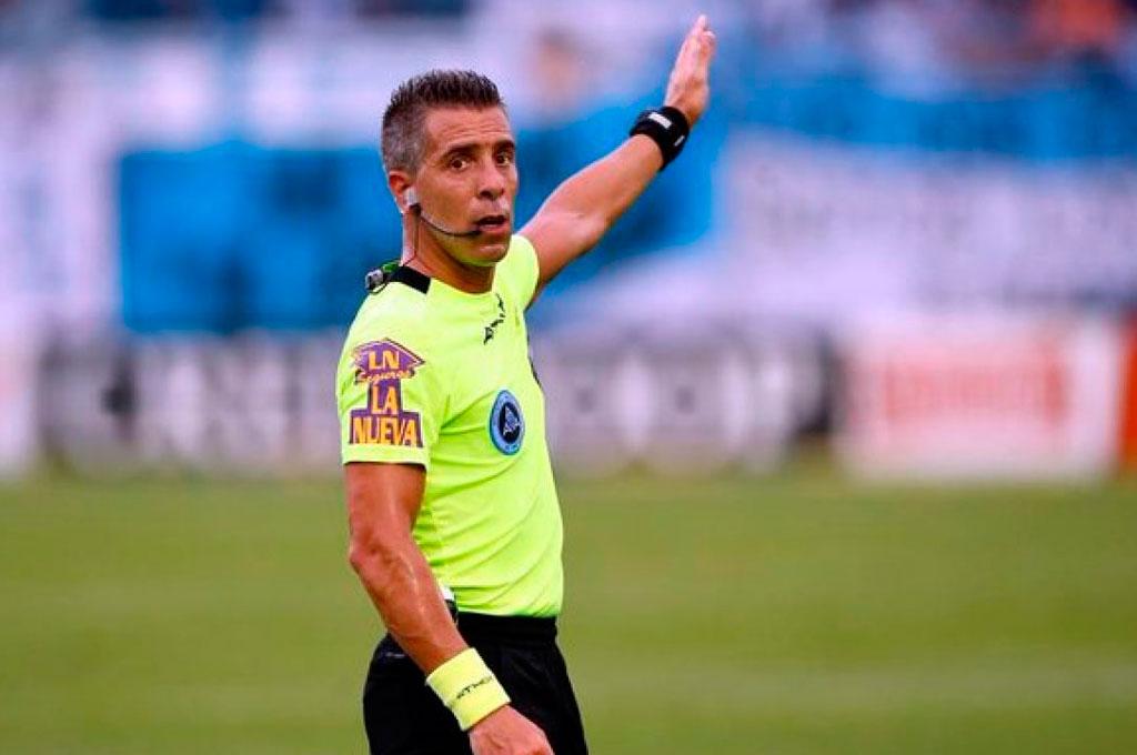 Hernnán Mastrangelo será el árbitro de Huracán ante Unión Crédito: Gentileza