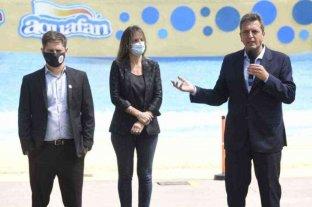 Massa y Kicillof reabrieron el Parque de la Costa tras su rescate