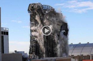 Video: demolieron el Trump Plaza Hotel and Casino