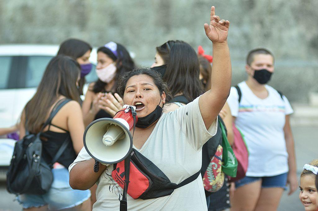 Rostros, nombres y, detrás de todos ellos, historias de violencia de género. Crédito: Manuel Fabatía