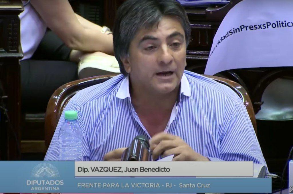 Juan Benedicto Vázquez Crédito: Gentileza