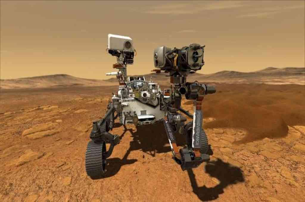 Después de siete meses de viaje y 494 millones de kilómetros recorridos, el robot Perseverance llegará a Marte  Crédito: Imagen ilustrativa