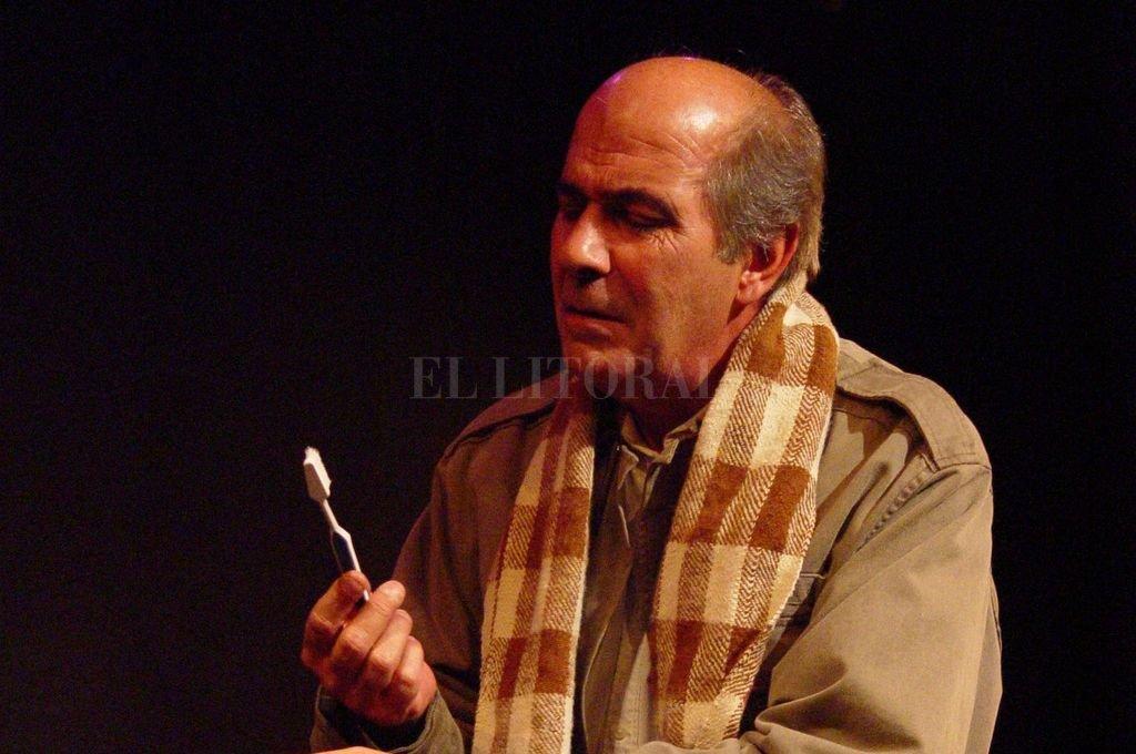 Jorge Ricci. En él, el funcionario y el actor pudieron convivir. Crédito: Archivo El Litoral