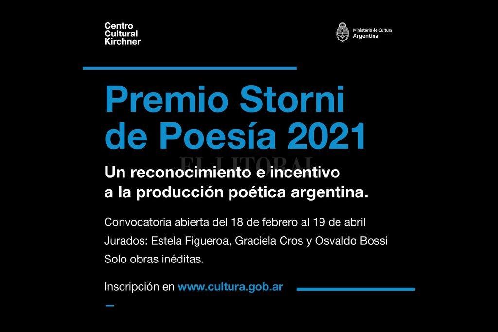 Hasta el 19 de abril podrán presentarse autores de todo el país. Crédito: Ministerio de Cultura de la Nación