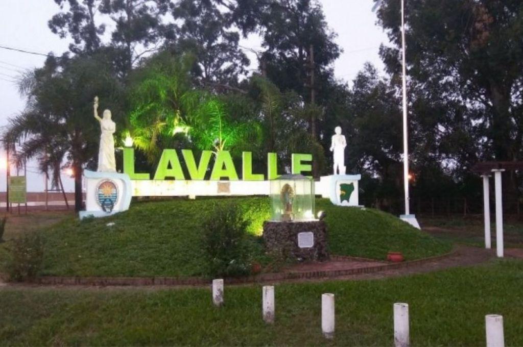 Lavalle, localidad correntina donde fue encontrado Crédito: Gentileza