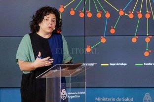 """Carla Vizzotti no se vacunó """"por la escasez de vacunas"""" y por """"contraindicaciones"""""""
