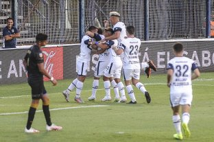 Gimnasia goleó a Talleres en La Plata