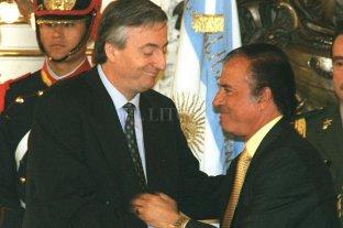De Menem a los Kirchner