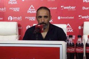 "Azconzábal: ""El equipo sigue evolucionando"""