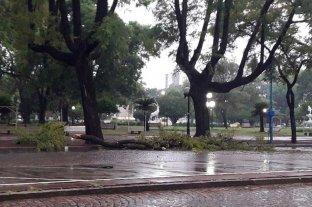 Fuerte tormenta azotó a la ciudad de Rafaela