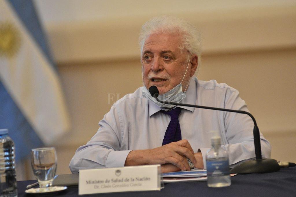 Ginés González García, ex ministro de Salud que renunció por el escándalo de las vacunas VIP Crédito: Pablo Aguirre