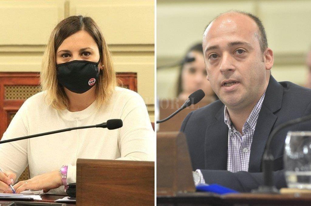 """Georgina Orciani y Sergio """"Checho"""" Basile. Crédito: Archivo"""