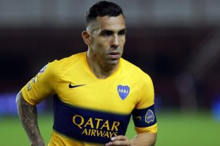 Tevez no se entrenó con Boca, pero se presume que será titular el domingo ante Sarmiento