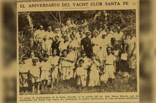 """Yacht Club Santa Fe y el recuerdo de ese """"magnífico rincón náutico"""""""