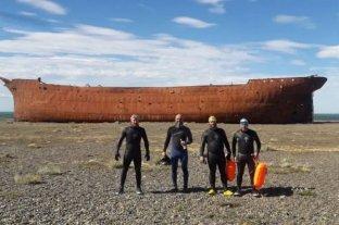Nadarán los 385 kilómetros del río Santa Cruz en nuevo homenaje a los tripulantes del ARA San Juan