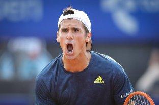 Tras un mal arranque, Federico Coria se recuperó y superó a Francisco Cerúndolo en tres sets