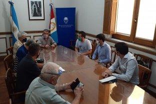 El bloque de senadores del PJ/NES se reunió con el secretario general de la JP Santa Fe