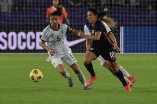 Dura derrota del seleccionado femenino ante Estados Unidos en la despedida de la She Believes Cup