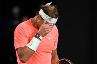 Nadal se bajó del torneo de Rotterdam por una lesión en la espalda