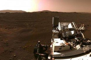 La NASA publicó una panorámica de 360 grados del lugar de aterrizaje de Perseverance en Marte