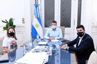 Cleri y Massetani se reunieron con Massa para impulsar el proyecto de Ganancias
