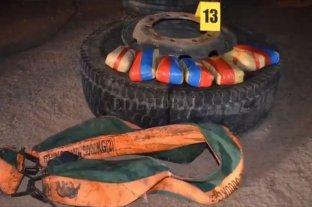 Secuestran 273 kilos de cocaína dentro de las cubiertas de un camión