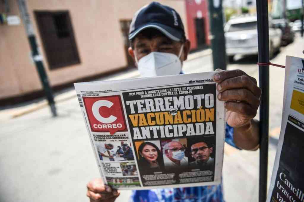 El escándalo ha provocado repercusiones en Perú y está siendo investigado. Crédito: Agencias