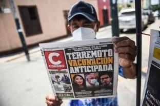 """""""Vacunagate"""" en Perú: ya son más de cien las personas que recibieron vacunas en secreto"""
