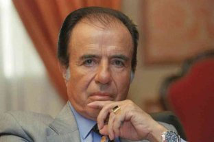 Apareció el histórico anillo de  Carlos Menem -