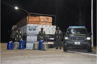 Secuestran 67 kilos de hojas de coca y 5 kilos de pasta base en Entre Ríos