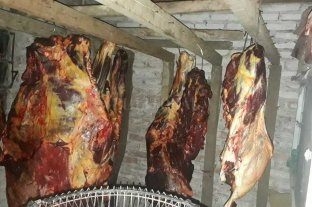 Carne clandestina: secuestraron media tonelada en el departamento Castellanos