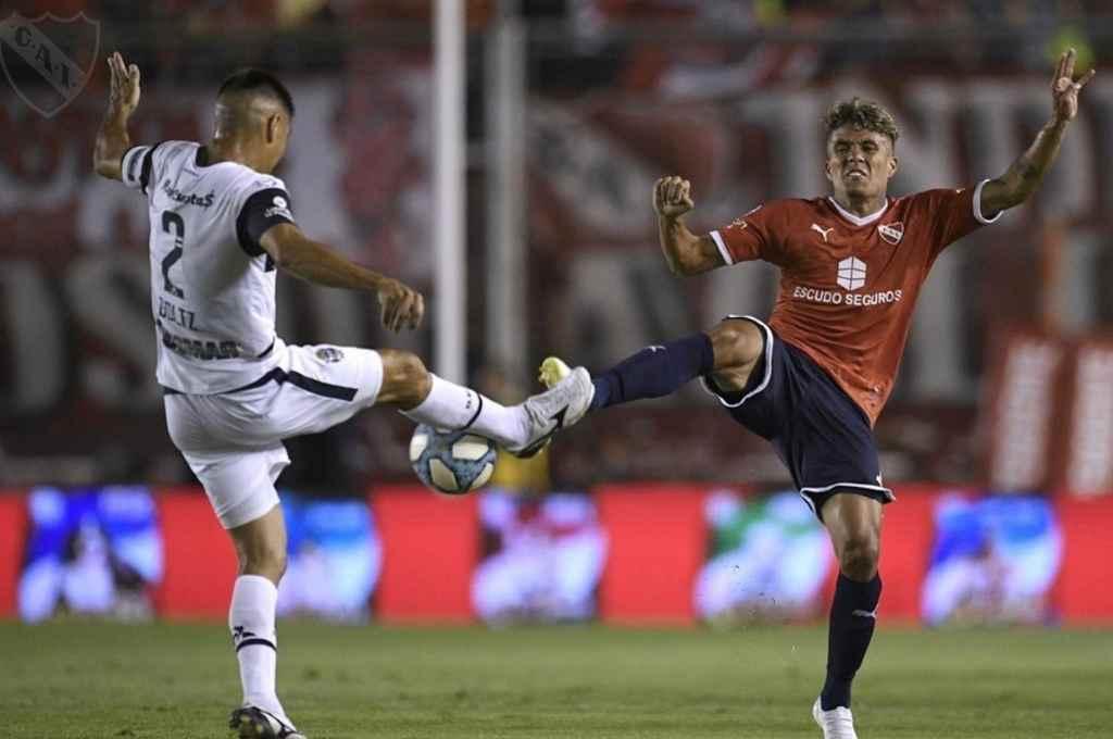 Independiente y Gimnasia se enfrentan en Avellaneda por la 3ra fecha de la zona B.    Crédito: Gentileza