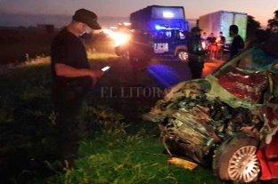 Rafaela: falleció un ceresino en un choque frontal contra un camión