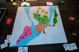 Armaron un TEG con el mapa de Santa Fe y se hicieron virales - Primeras partidas del TEG santafesino