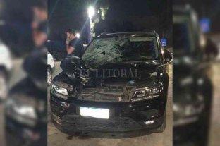 Pablo Cavallero, involucrado en un grave accidente de auto