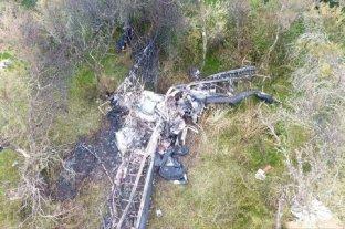 Falleció un piloto paranaense que se estrelló mientras fumigaba en Buenos Aires